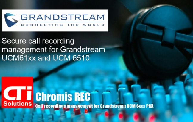 Call Recording for Grandstream UCM 6xxx